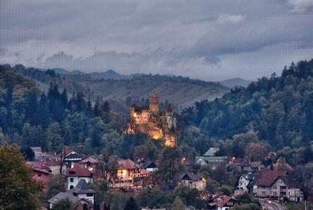 Бран, замок Дракулы